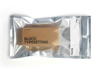 Blocd candy Typesetting packaging