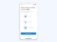 A Music App Concept