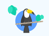 Day 44 Toucan