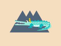 Day 56 Crocodile