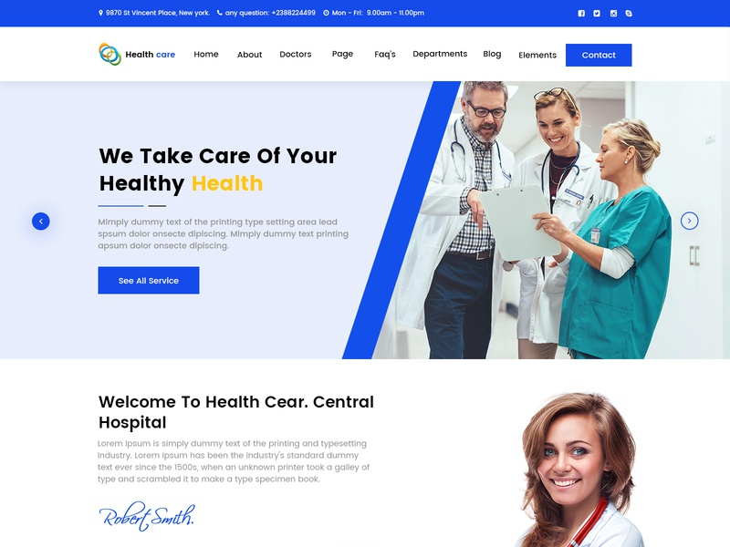 Health Landing Page icon identity type vector photo album illustrator typography mobile minimal mockup lettering wire frame logo landing page website illustration design animation webdesigner branding