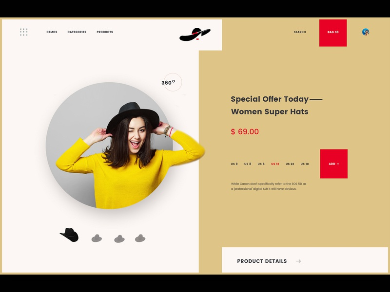 Hats lover only for you photo album ux ui web app logo design typography lettering illustrator branding mockup mobile minimal website wire frame illustration webdesigner landing page animation