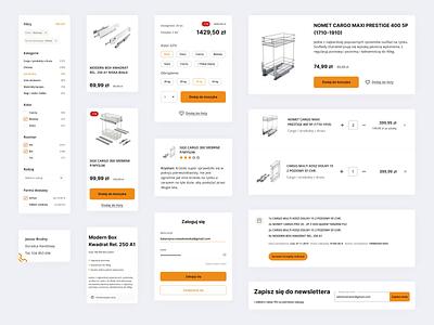 BIMEB - Components webdesign ux ui design uiux ui figma design figmadesign figma ecommence ecommerce business ecommerce design ecommerce component library component design component components