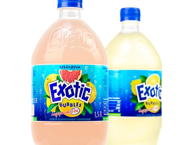 EXOTIC BUBBLES — FIZZY BEVERAGES