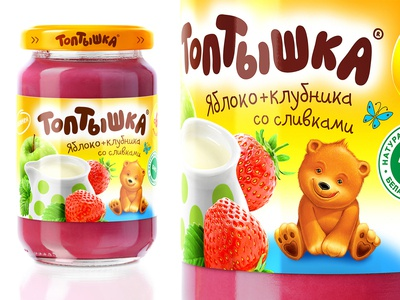 TOPTYSHKA — BABY FOOD
