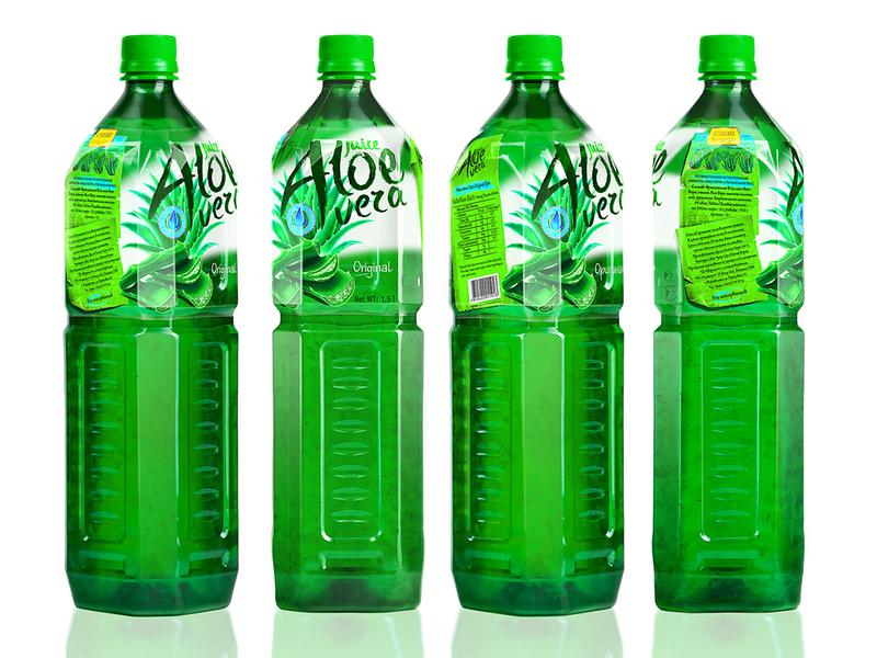 ALOE VERA — BEVERAGES aloe aloe vera beverages label brand logo packaging design packaging trademark design branding juice