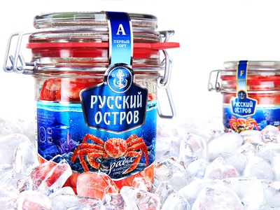 RUSSKIY OSTROV — COOLED CRABS