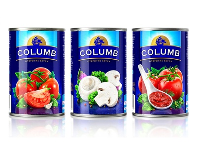 СOLUMB — CANNED TOMATOES AND MUSHROOMS