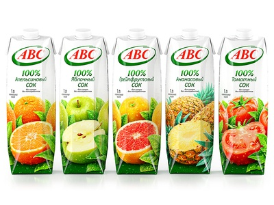 АВС — SUGAR AND PRESERVATIVES FREE JUICES