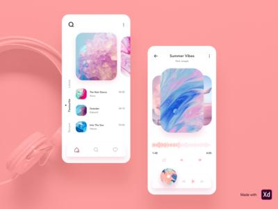 Q Music - Music App Design