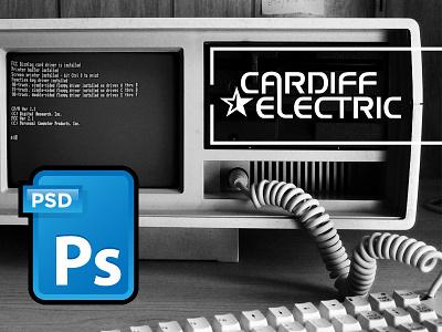 Cardiff Electric logo cardiff electric logo hcf halt and catch fire