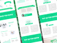 Web UI - Landing Page #growth #green