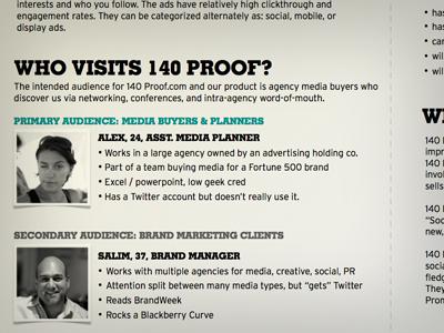 140 Proof visual treatment brief - sneak peek 140proof peek peep startup venturecapital