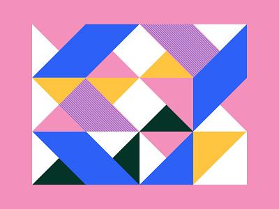 Geometric Mondays 047 design illustration brand identity identity branding color geometric color palette