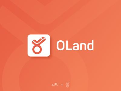 O LAND Logo