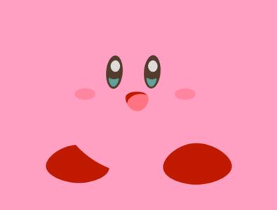 Minimalist Kirby