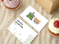 Bakery Business Card - Sweet & Fresh