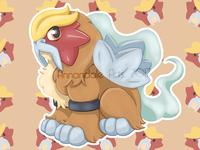 Chibi Style - Pokemon - Entei