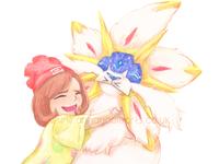 Pokemon Sun - Solgaleo