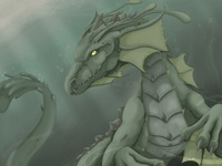 Algae Dragon Concept