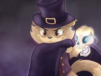 Floyd - Halloween Voodoo Cat