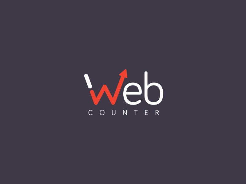 Web Counter - Web Analytics Service stats web logo logo design