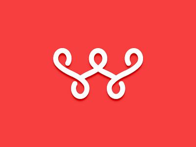 SWS Logo letter logo monogram w logo s logo wine logo