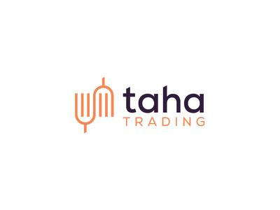 Taha Tading Logo Concept