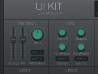Synthesizer UI Kit