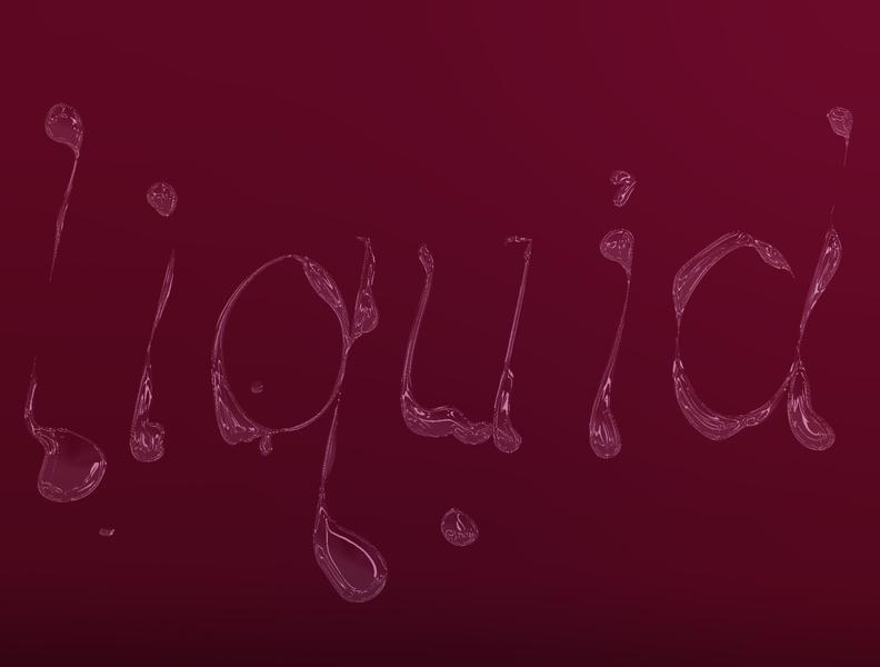 Custom Type editorial photoshop liquid expressive type illustration design custom type lettering