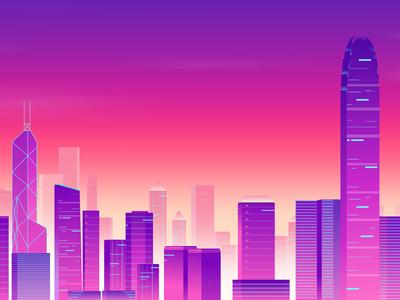 城市插画 - 08/16/2019 at 01:43 PM