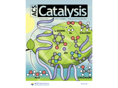 ACS Catalysis Cover Art for Volume 10, Issue 5