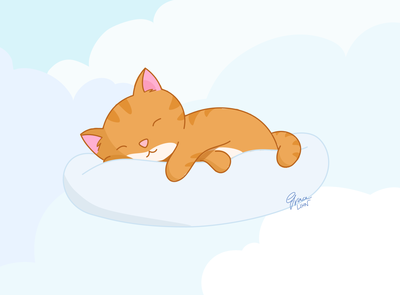 Friday Feels – Sleeping Cat