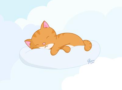 Friday Feels –Sleeping Cat