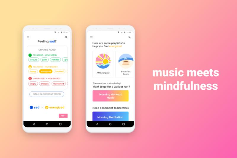 Music App Concept gradient ux ui concept app exploration design app