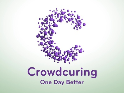 3D CGI Animation | Crowdcuring Logo Opening