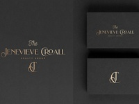The Jenevieve Croall Realty Group real estate logo branding logos luxury logo logo design logo brand design logodesign