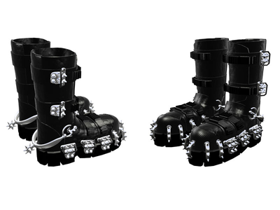 Walking Boots :) 3ds max boots 3d