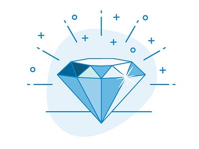 Diamond Vector Art illustration vector line art diamond
