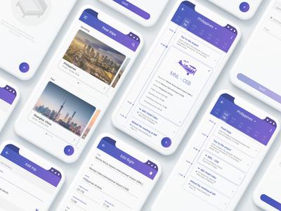 Travel Planner App UI