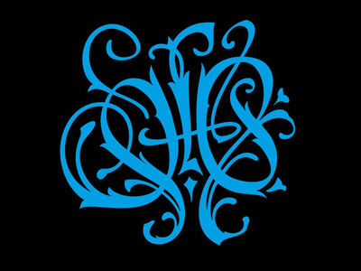 Lettering: Ж calligraphy lettering tattoo gothic fraktur pokras lampas pokraslampas vector
