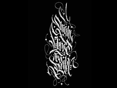 Strictly Kings & Better calligraphy pokras pokraslampas