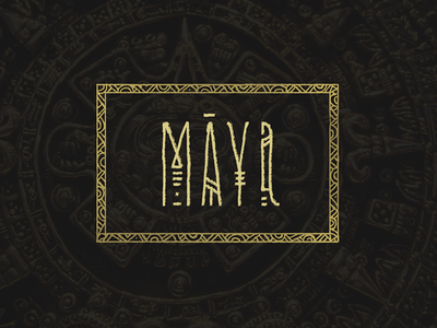 Logo: Maya lettering logo pokras pokraslampas