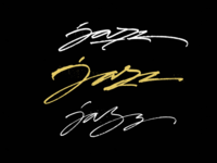 Jazz logo sketches