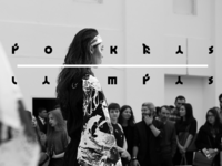 Aurora Fashion Week 2015 \ Live Calligraphy Performance
