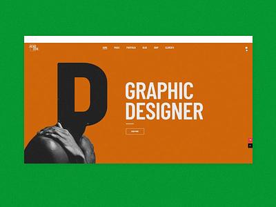 Kenozoik - Parallax Showcase collage animation ui uxd modern minimal graphic design design creative