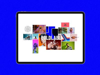 Boldlab - Creative Agency Theme creative design bold web ui ux modern collage webdesign graphic design