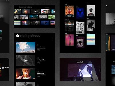 Leitmotif - Movie and Film Studio Theme theme design graphic design ui ux web design wordpress film theme