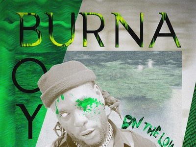 Burna boy collage