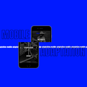 CV - Motion graphic - Mobile screen